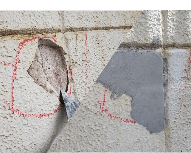 外壁や外回りのリペア