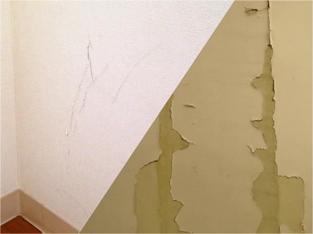 壁紙、内装のリペア